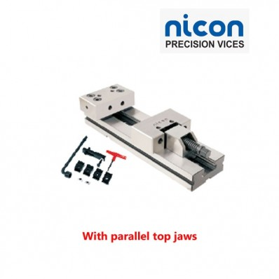 NICON MODULAR VICE 255MM OPEN (With Parallel Top Jaws)